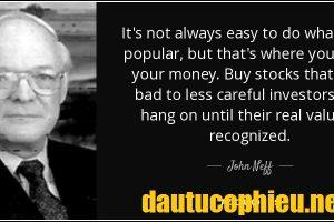 Giới thiệu nhà đầu tư vĩ đại JOHN NEFF