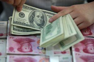 Dự trữ ngoại hối Trung Quốc giảm kỷ lục