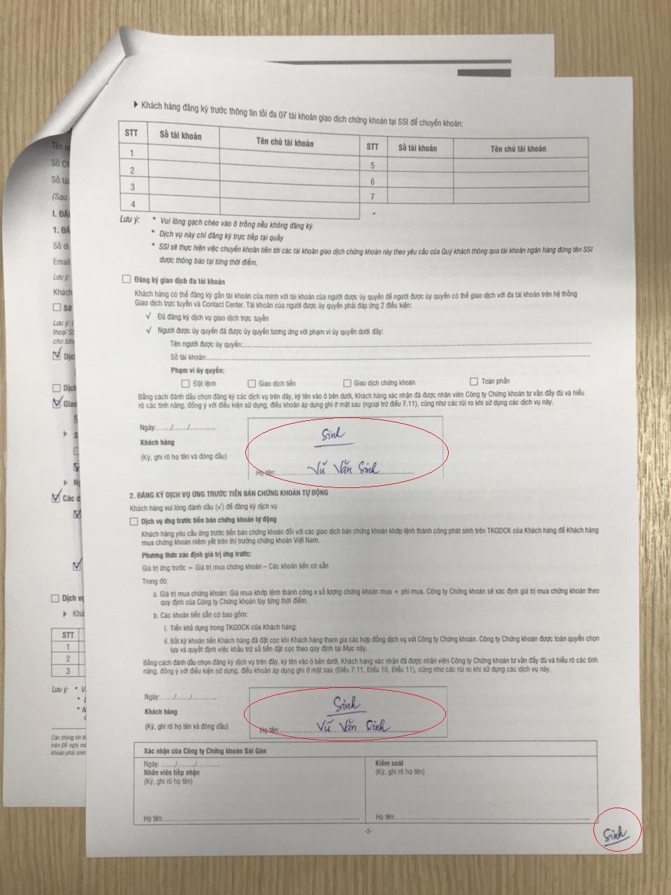 hợp đồng mở tài khoản chứng khoán SSI