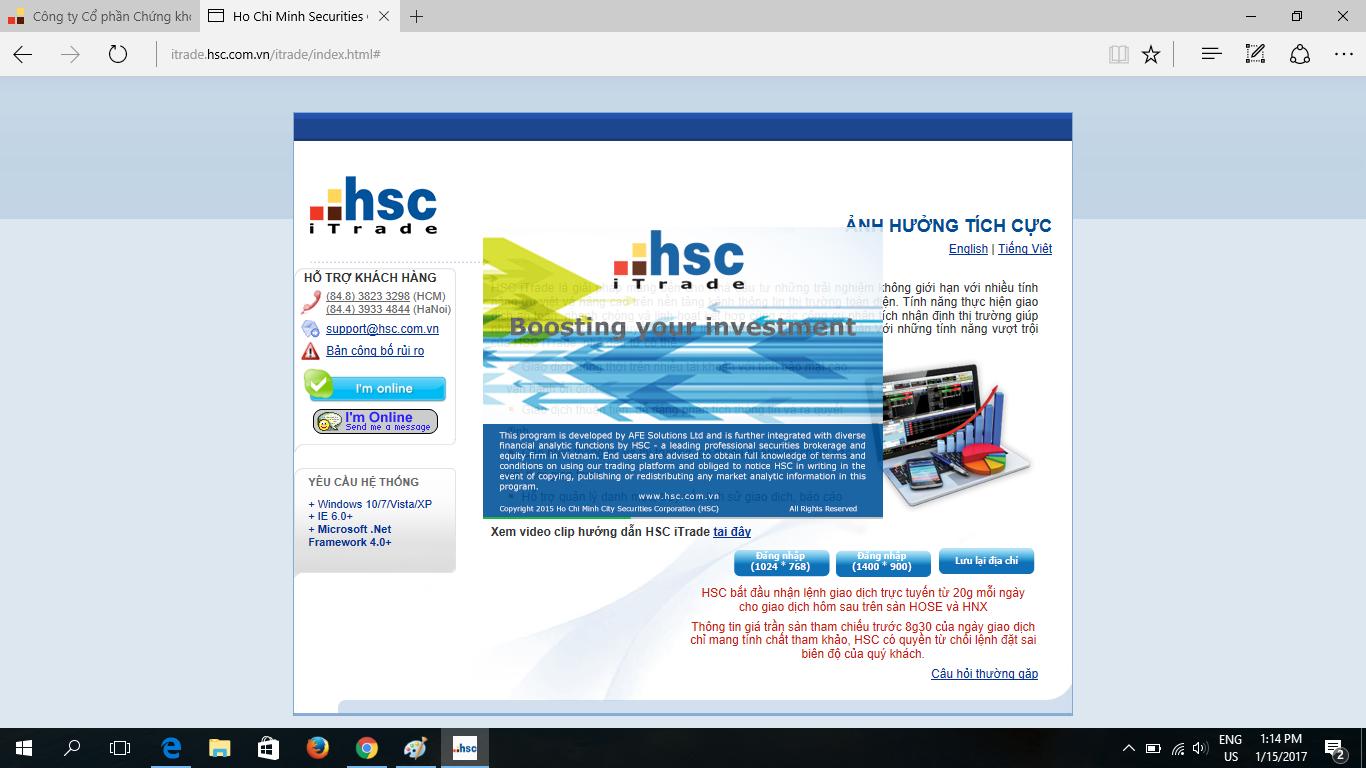 hsc itrade 3