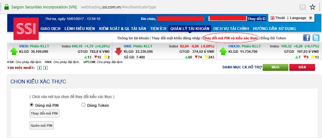Kết quả hình ảnh cho giao dịch online ssi