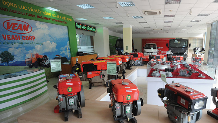 Mua - Bán cổ phiếu Tổng Công ty Máy động lực và máy nông nghiệp Việt Nam (VEAM)