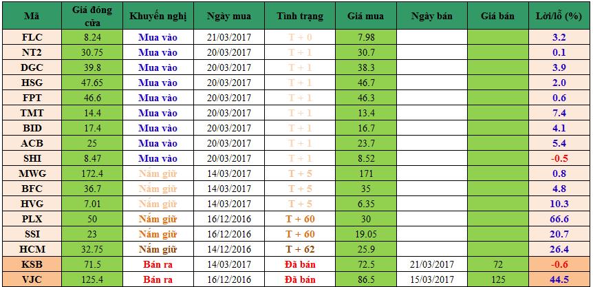 Danh mục đầu tư dm21031