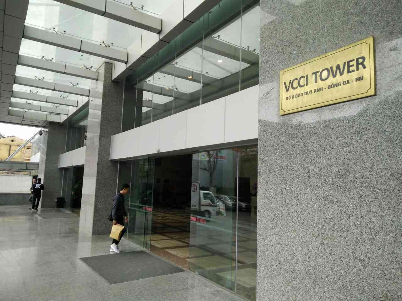 Trụ sở làm việc của Công ty Chứng khoán TPHCM - HSC, Chi nhánh HN. Ảnh: Nhật Cường