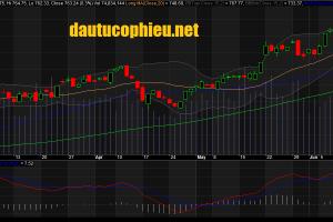 DXG bật tăng mạnh và dẫn đầu thanh khoản trên HOSE, thị trường rực rỡ sắc xanh còn ROS tiếp tục giảm sàn