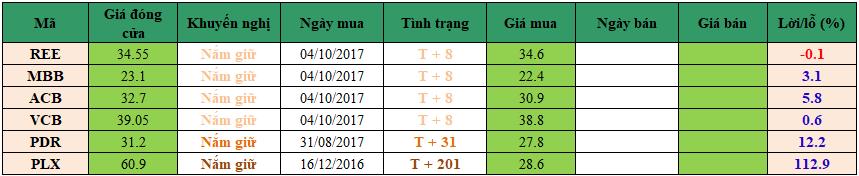 Danh mục đầu tư dm1610