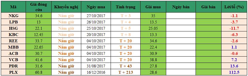 Danh mục đầu tư dm0111