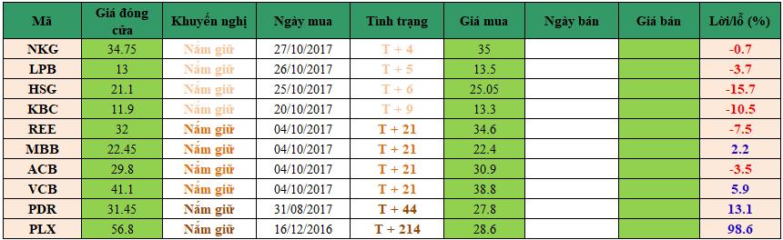 Danh mục đầu tư dm0211