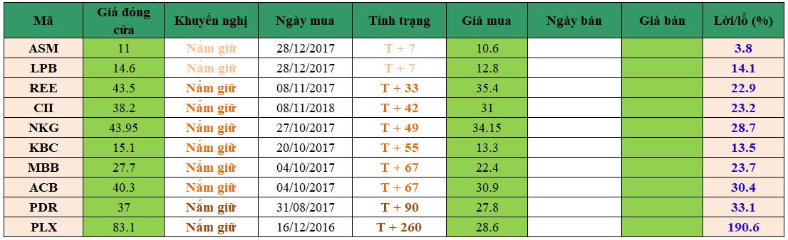 Danh mục đầu tư dm1001