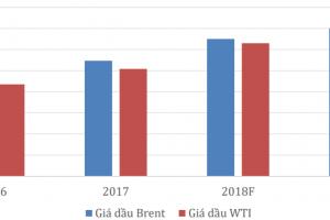 Dự báo giá dầu năm 2018 - 2019. Nguồn: HSC