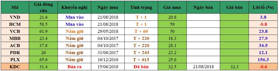 Danh mục đầu tư dm2208