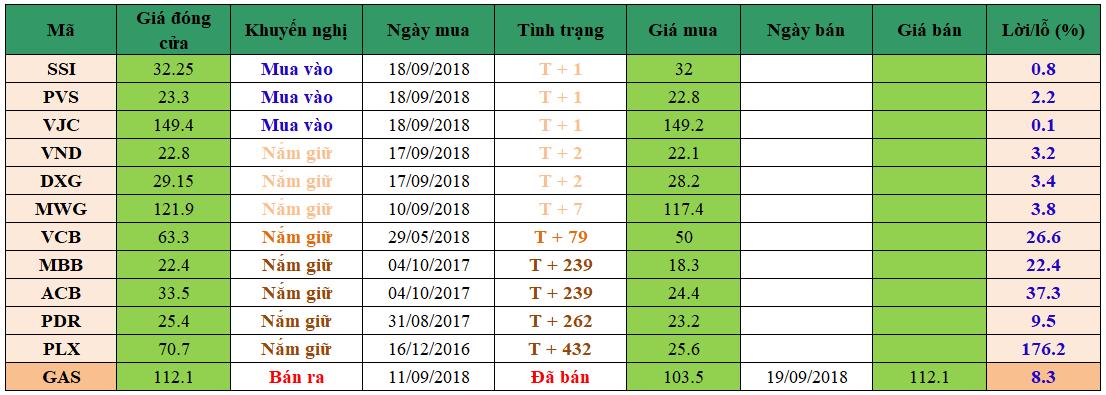 Danh mục đầu tư dm1909