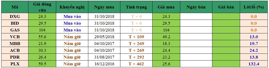 Danh mục đầu tư dm3110