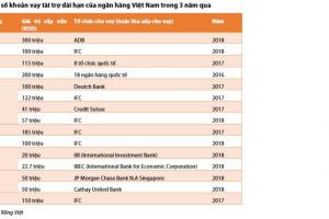 Cập nhật ngành ngân hàng – Xu hướng vay vốn tài trợ từ các tổ chức tài chính quốc tế ở các ngân hàng