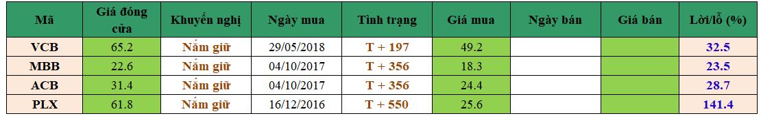 Danh mục đầu tư dm1303