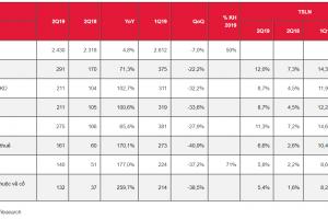 Cập nhật cổ phiếu AAA - Lợi nhuận mạnh mẽ từ phân khúc khu công nghiệp thúc đẩy lợi nhuận Q2/2019