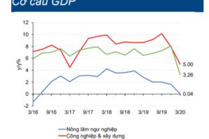 Cập nhật nhanh Kinh tế vĩ mô – GDP Q2/2020: tăng trưởng thấp nhất kể từ Q1/2020