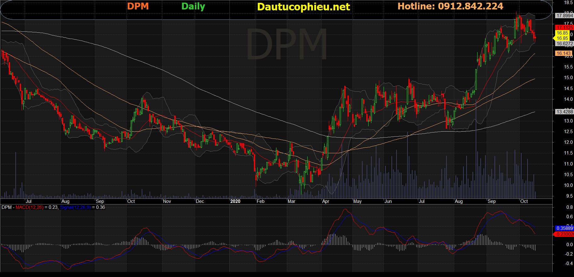 Cổ phiếu DPM