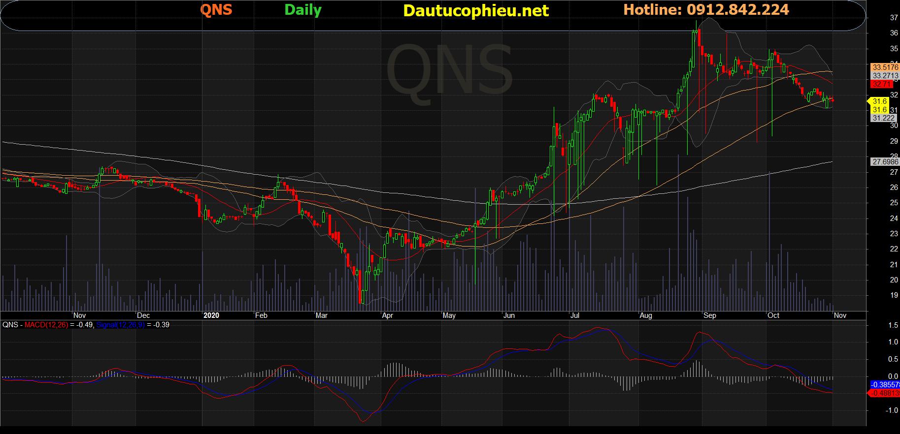 Cổ phiếu QNS
