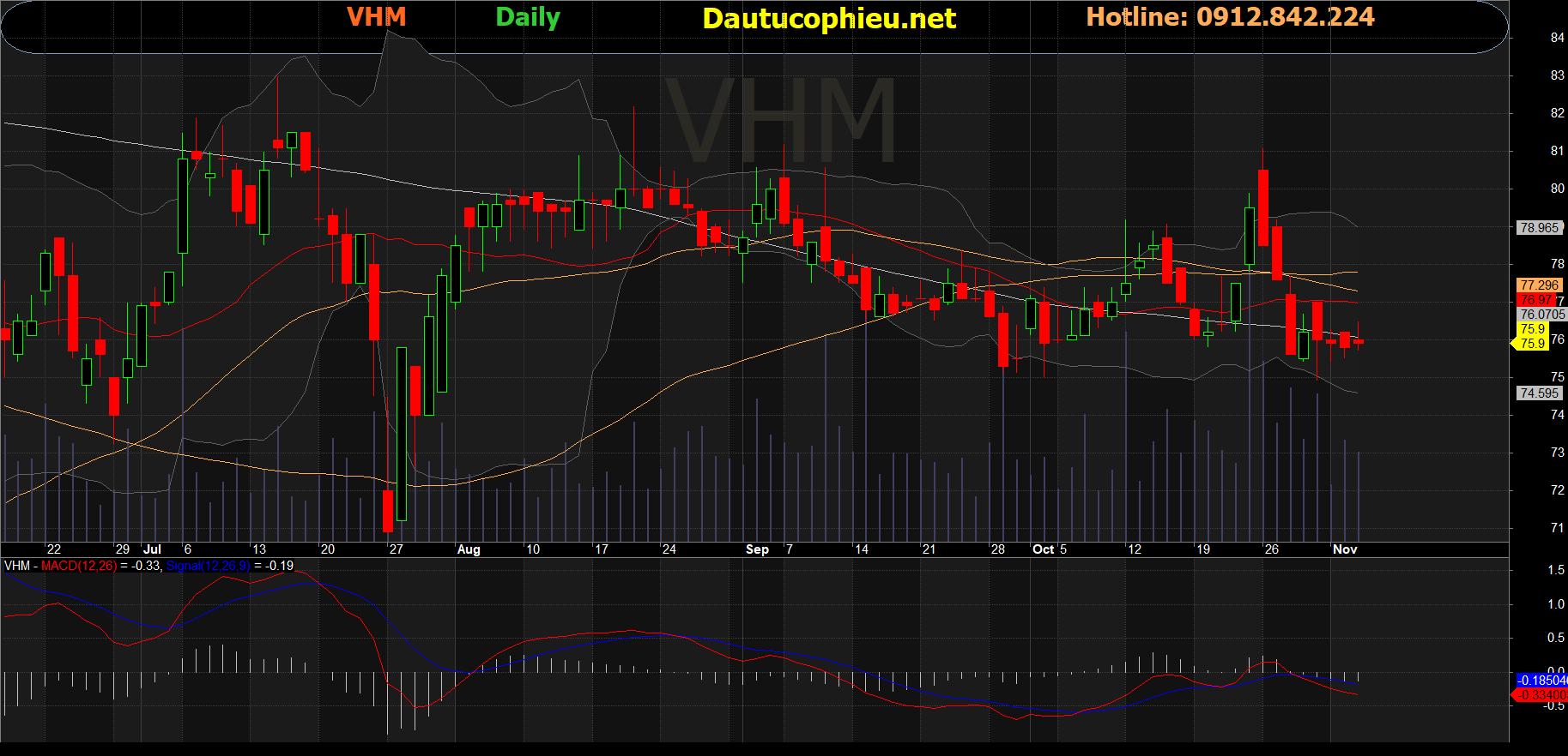 Cổ phiếu VHM