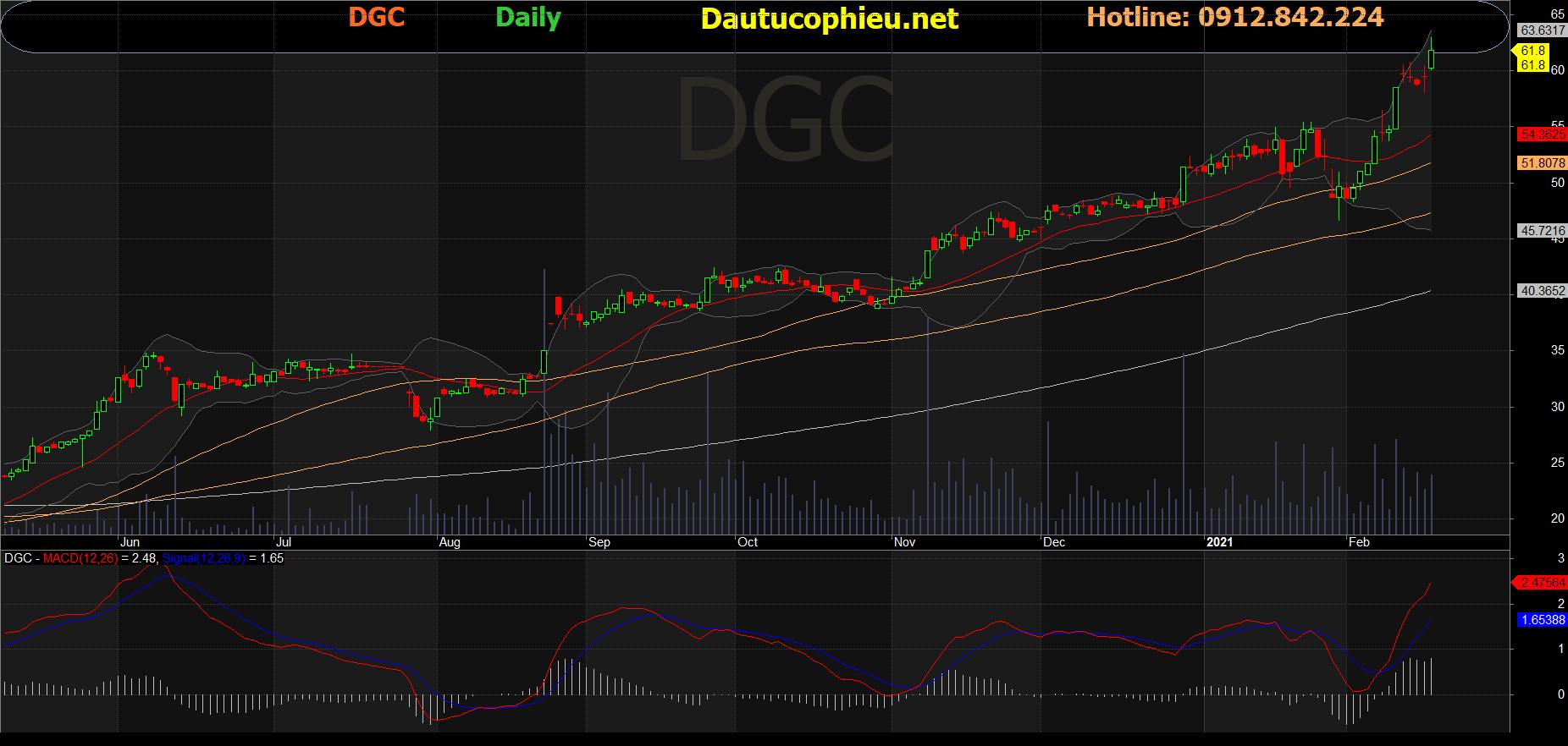 Cổ phiếu DGC