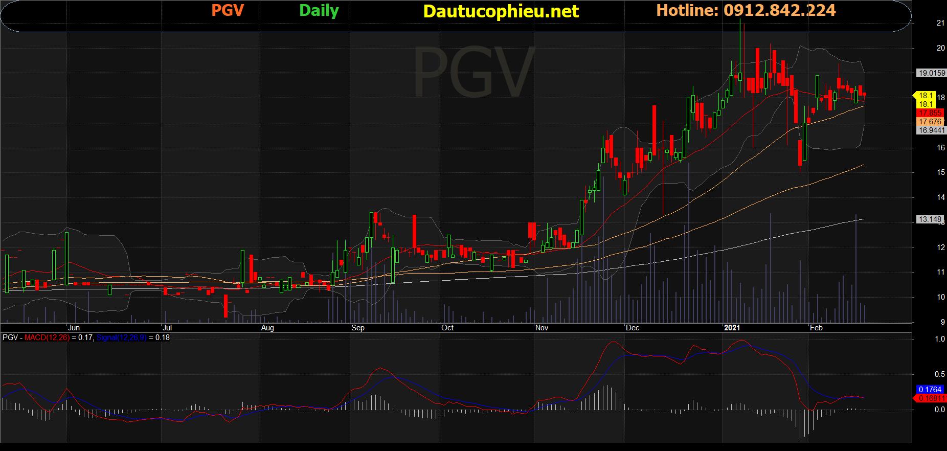 Cổ phiếu PGV