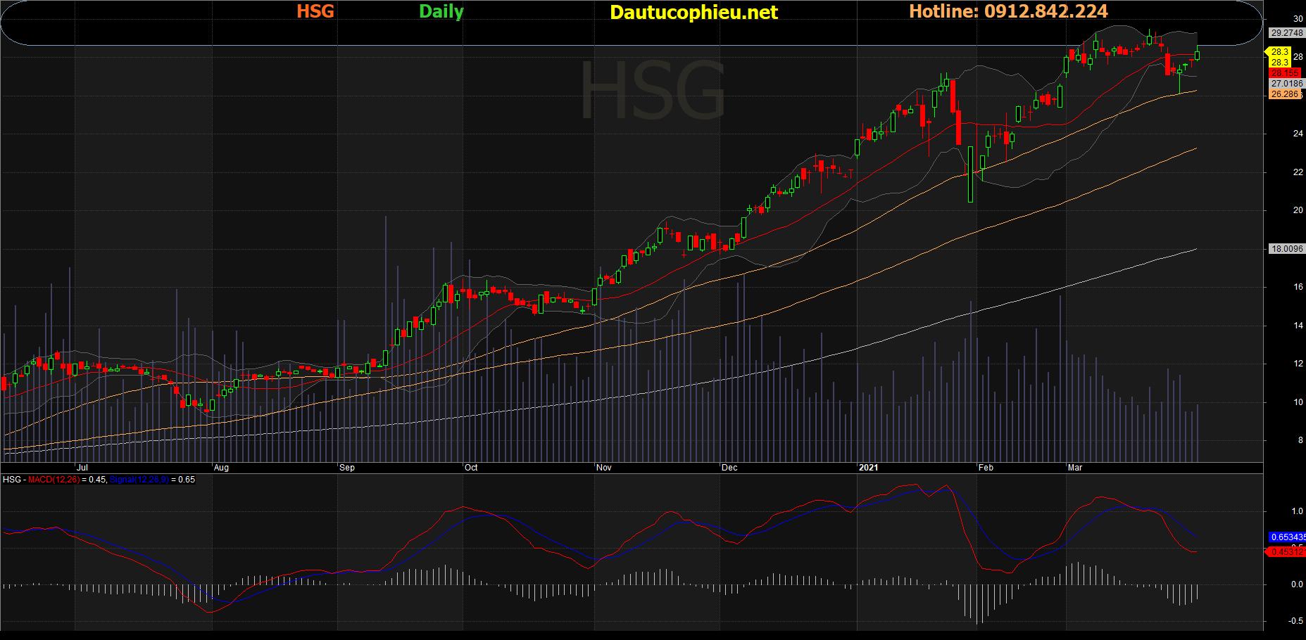 Cổ phiếu HSG