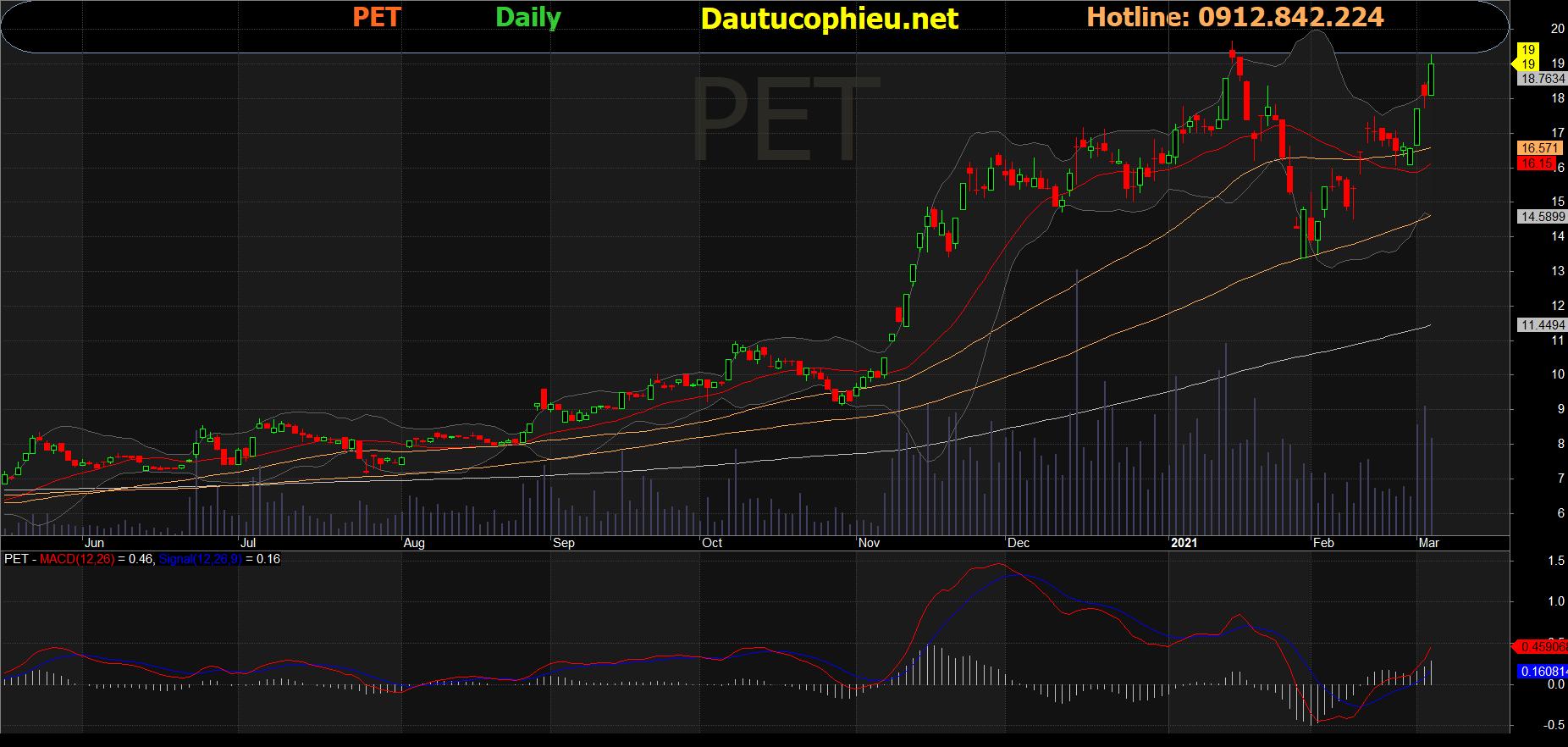 Cổ phiếu PET