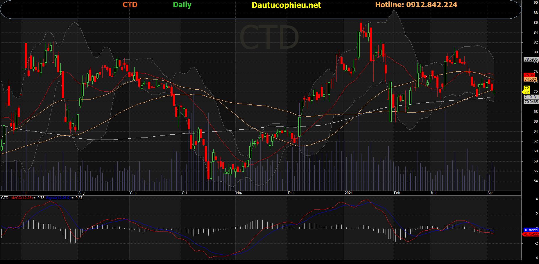 Cổ phiếu CTD