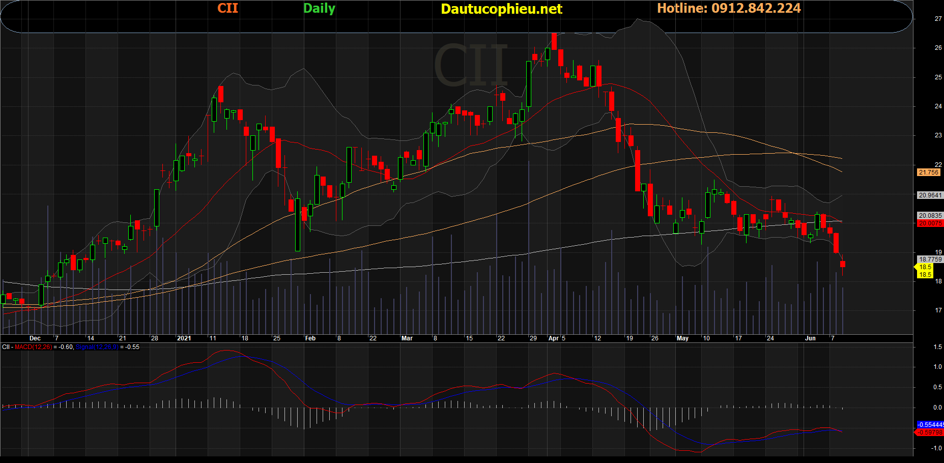 Cổ phiếu CII