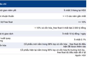Cập nhật chỉ số – Kết quả reiview bán niên chỉ số VNFIN Lead