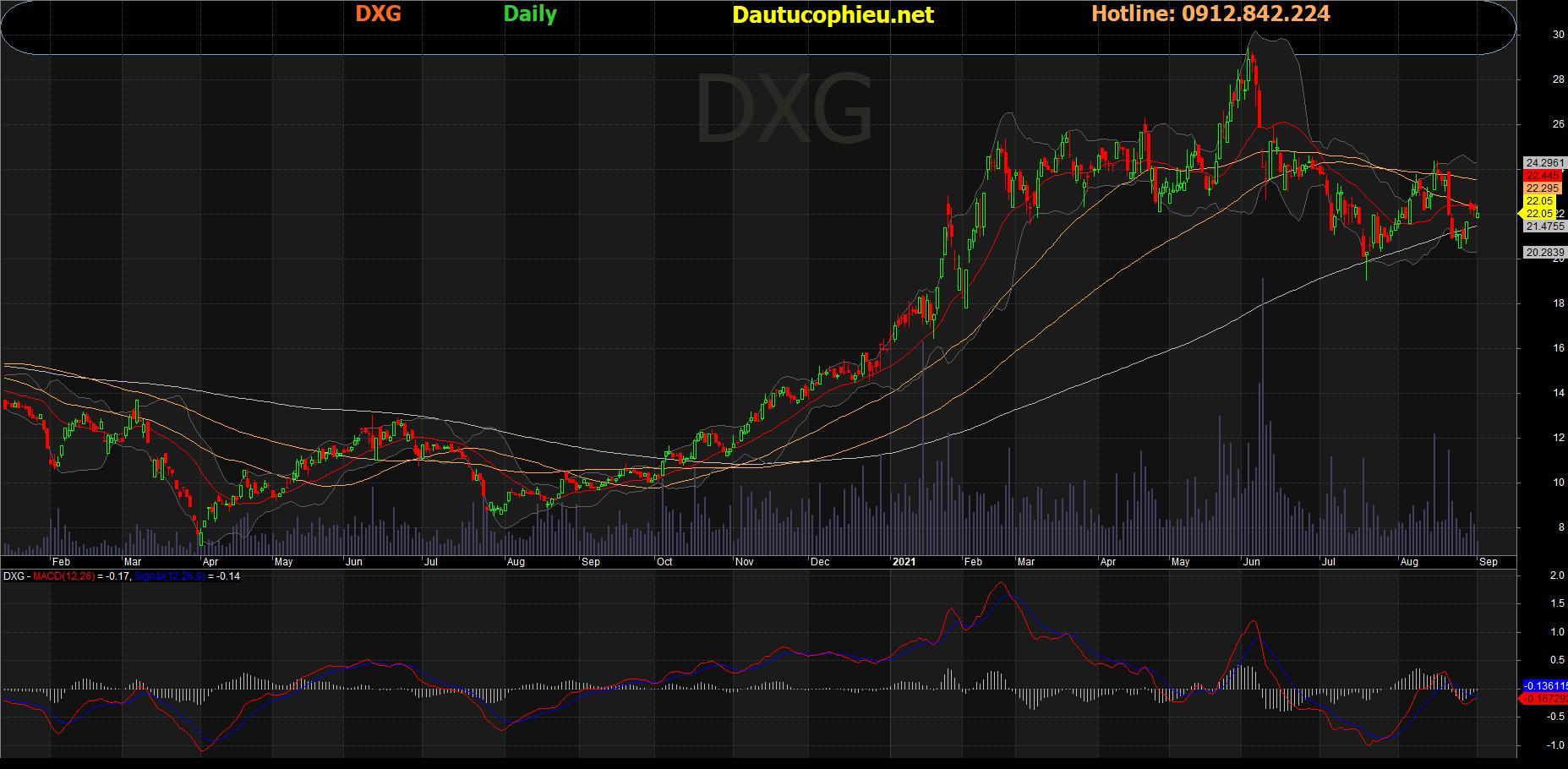 Cập nhật cổ phiếu DXG – Khuyến nghị mua vào với giá mục tiêu 28.000 đồng/cp