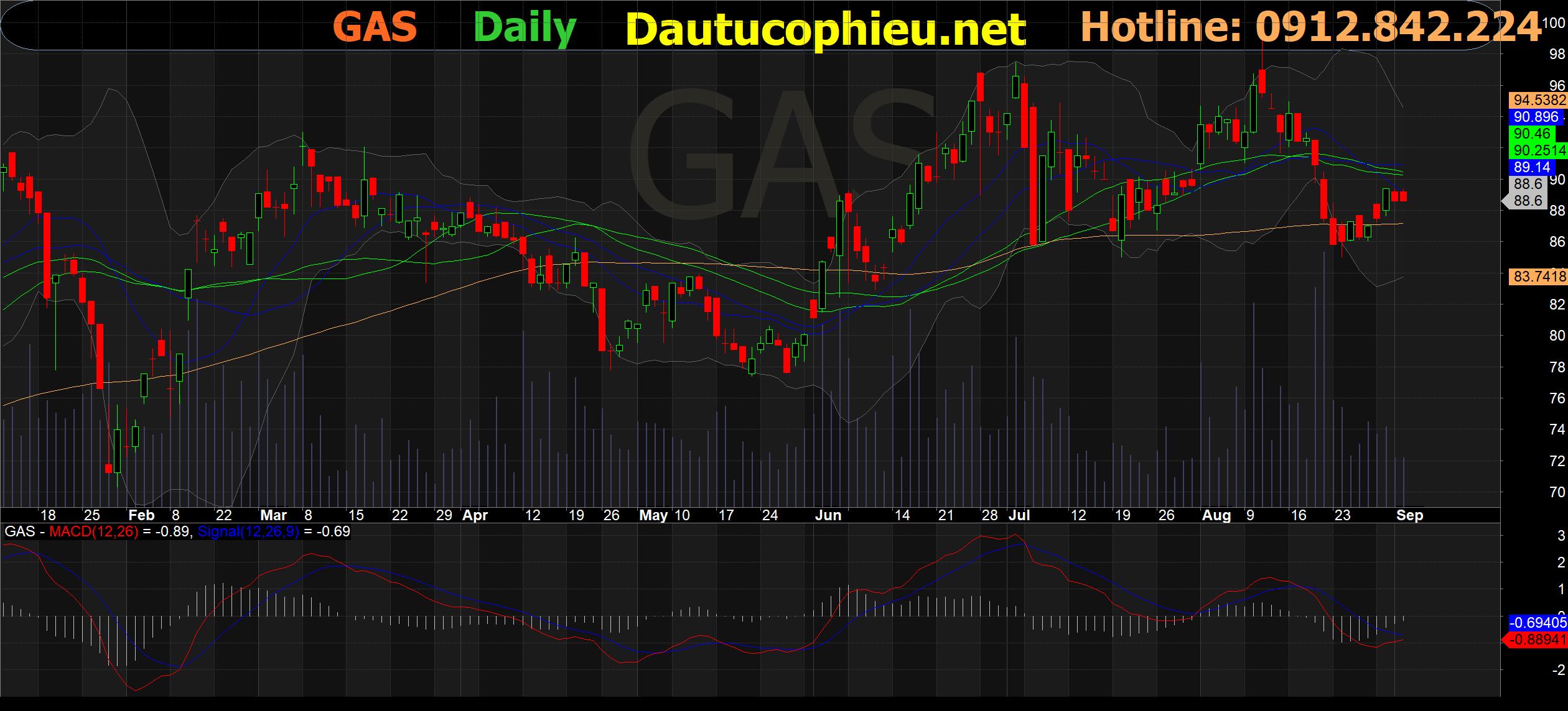 Cập nhật cổ phiếu GAS – Nỗ lực kiểm soát ảnh hưởng dịch Covid 19